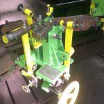Συσκευή ρύθμισης των δοντιών στις πριονοκορδέλες , bandsaw setting machine