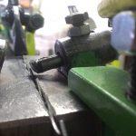 συσκευή για τη ρύθμιση σωστά τα δόντια του πριονιού μπάντα πριονοκορδέλα